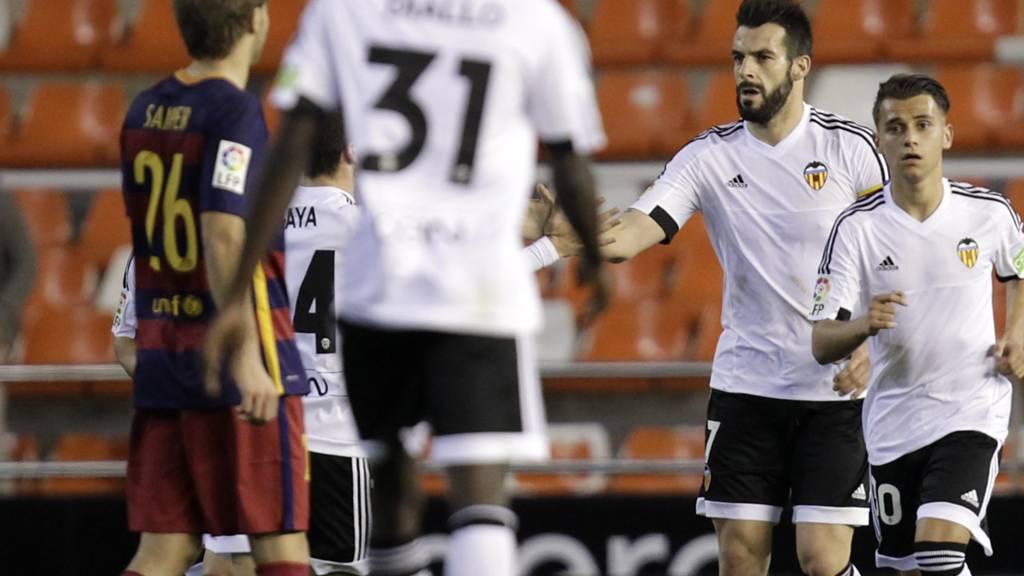 Alvaro Negredo celebrates