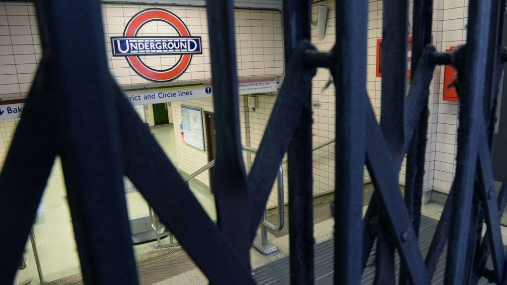 Closed Tube station