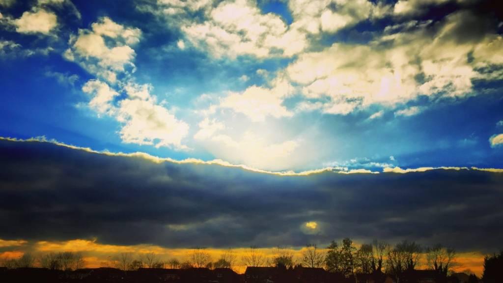 Cloudscape taken in Abingdon