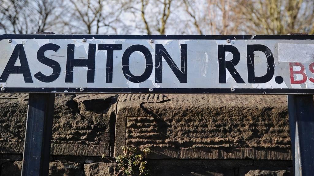 Ashton Road sign