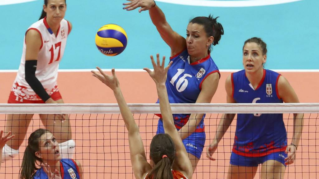 Serbia's Milena Rasic
