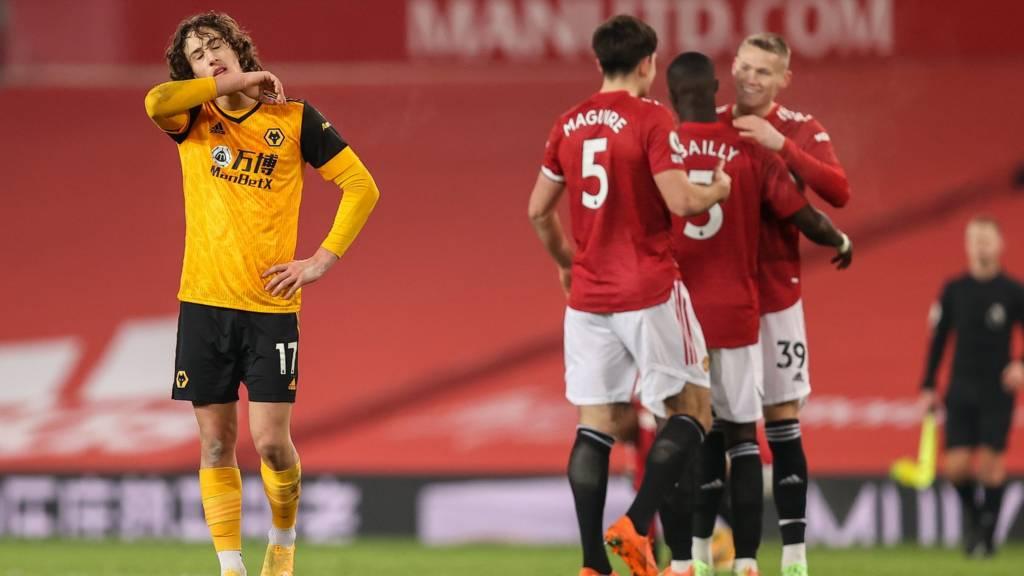 Premier League LIVE: Man Utd v Wolves score - Live - BBC Sport