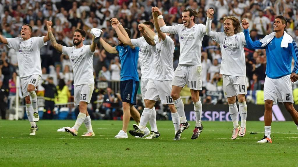 Champions League Semi Final Real Madrid V Man City Live Bbc Sport