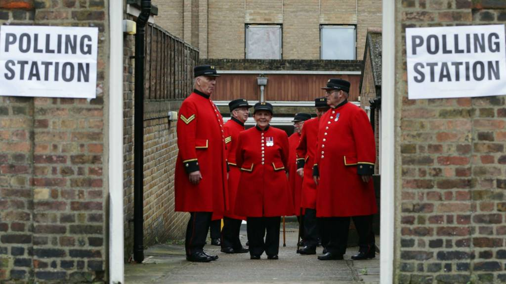 Chelsea pensioners voting