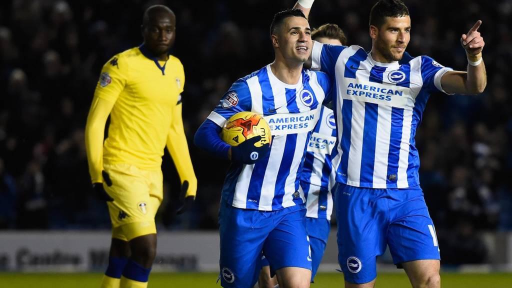 Brighton striker Tomer Hemed