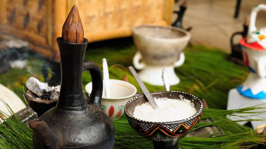 Ethiopia coffee pot