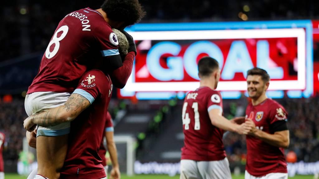 West Ham goal
