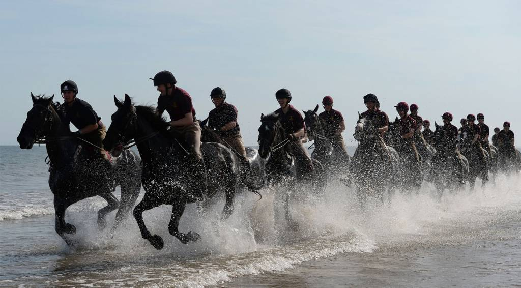Household Cavalry at Holkham