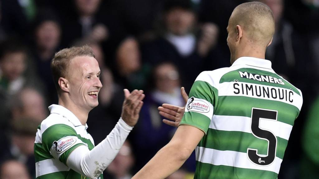 Leigh Griffiths and Jozo Simunovic