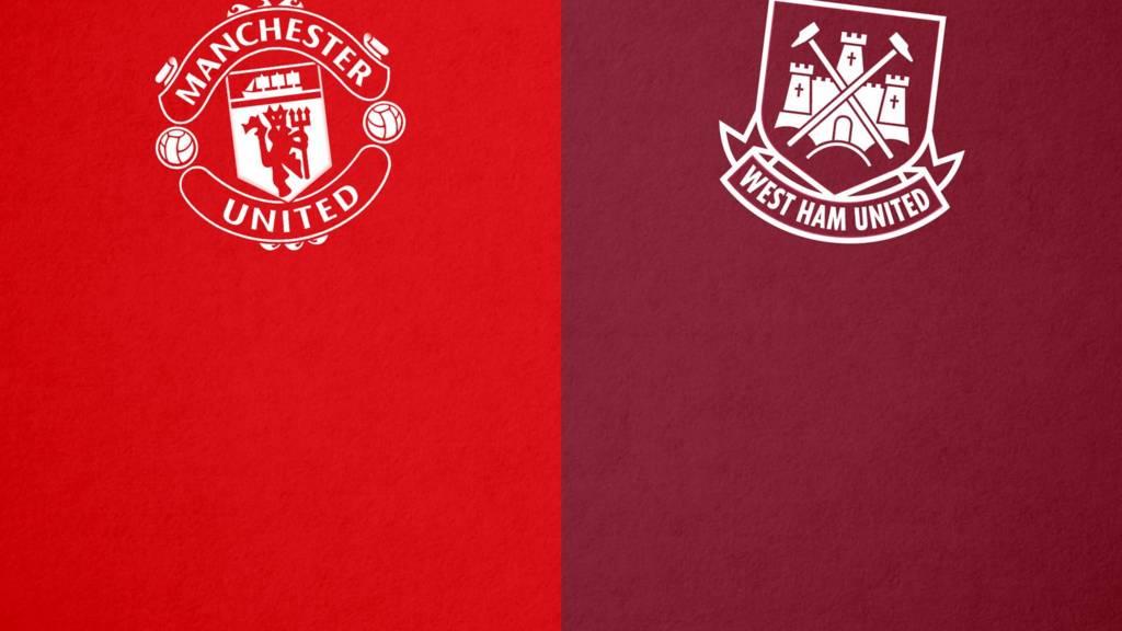 Man Utd v West Ham badge