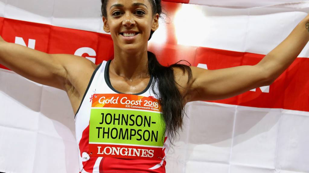 Katarina Johnson-Thompson of England