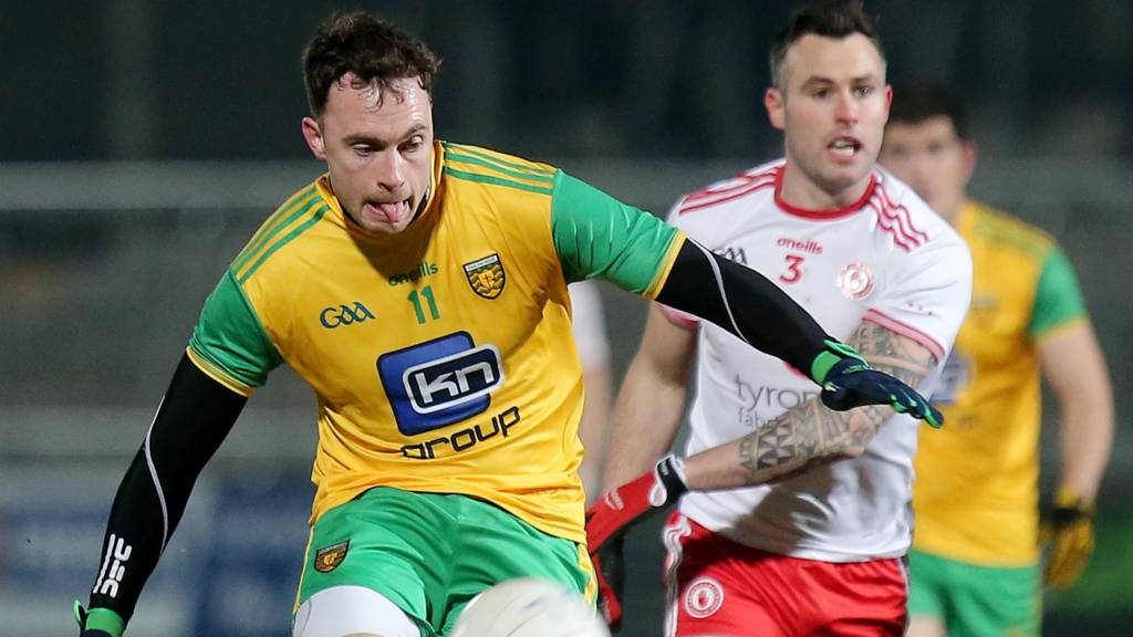 Action from the McKenna Cup final