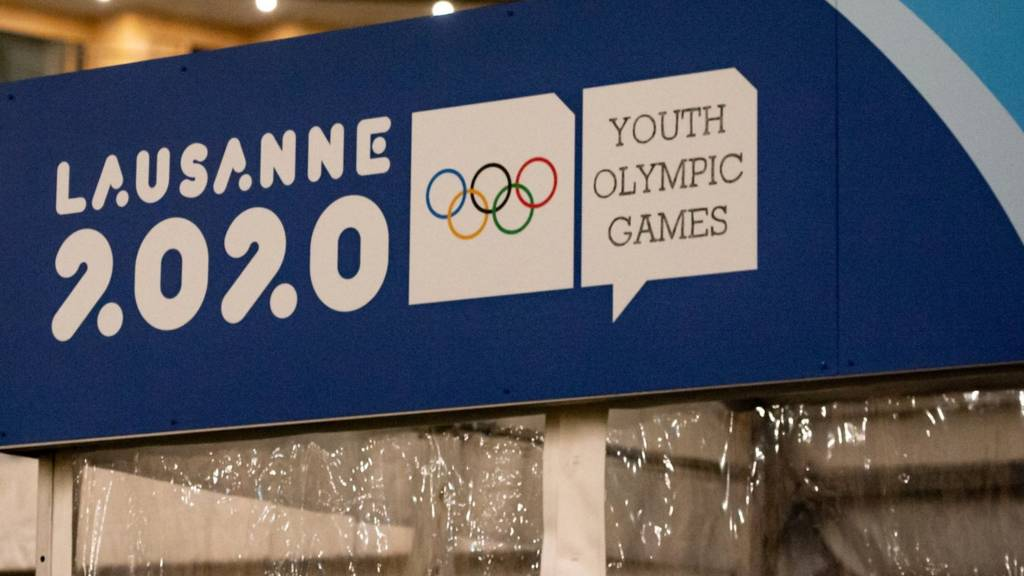2020 Winter Youth Olympic Games sign