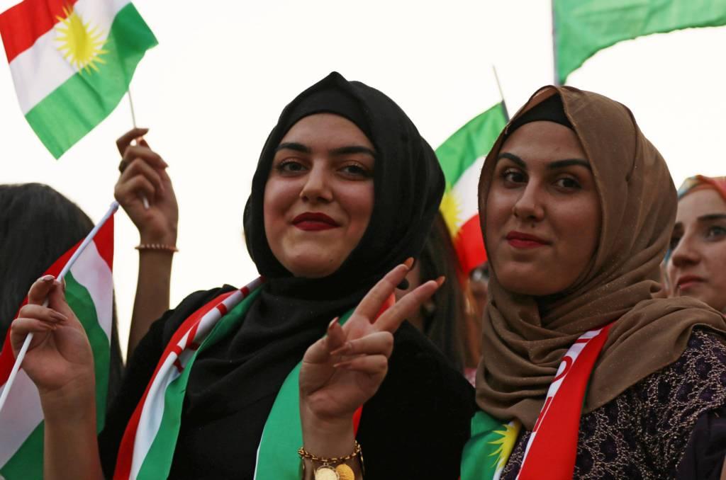 كرديات عراقيات في أربيل