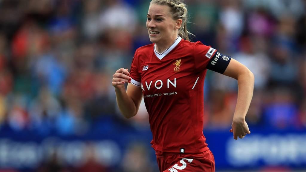 Gemma Bonner of Liverpool Ladies