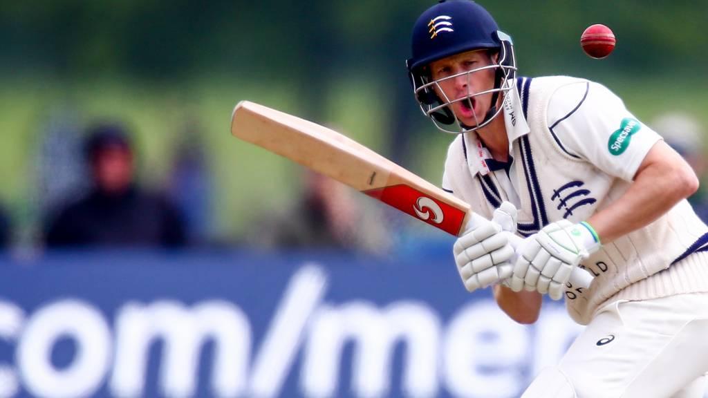 Middlesex batsman Adam Voges
