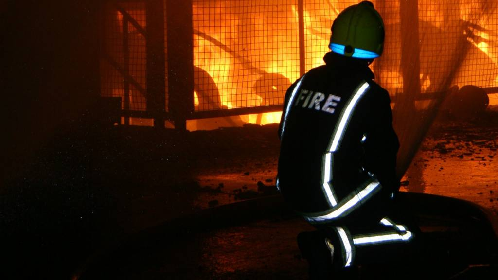 Fire at Rotherham Tata plant