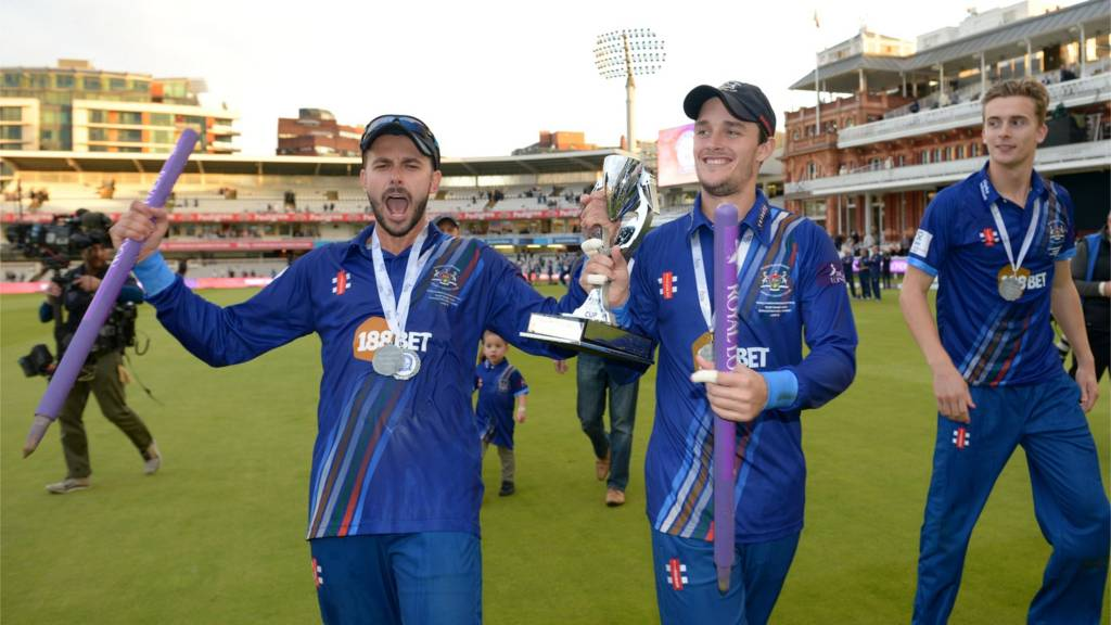 Gloucestershire celebrate their One-Day Cup final triumph