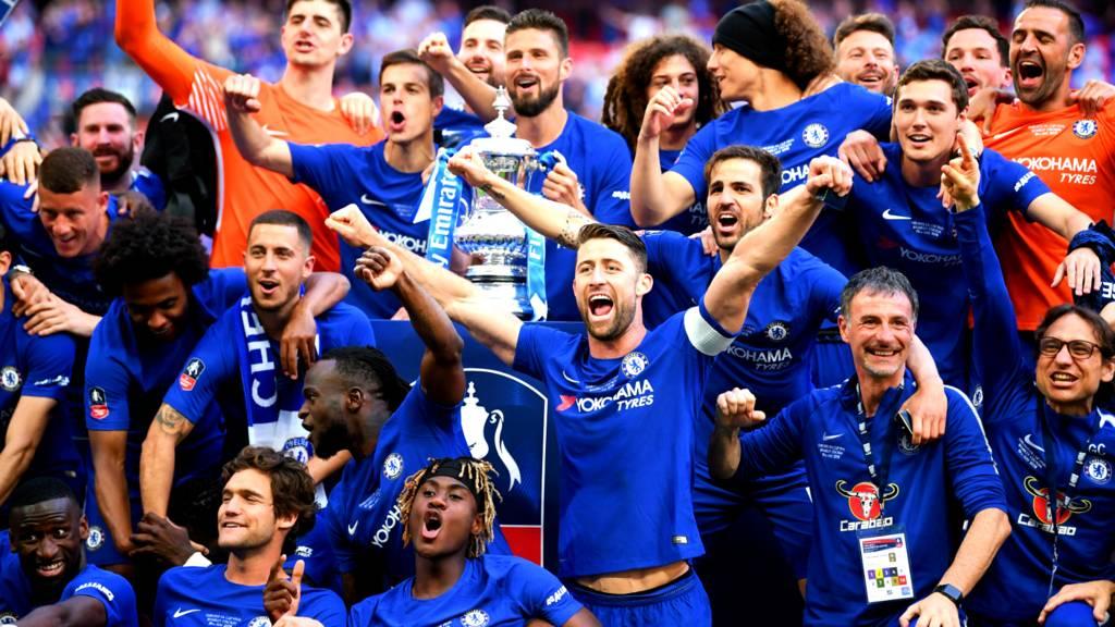 Chelsea Vs Manchester United Vs Fc Barcelona: Watch FA Cup Final Live: Chelsea V Manchester United