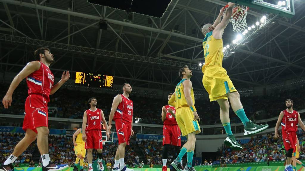 Australia v Serbia