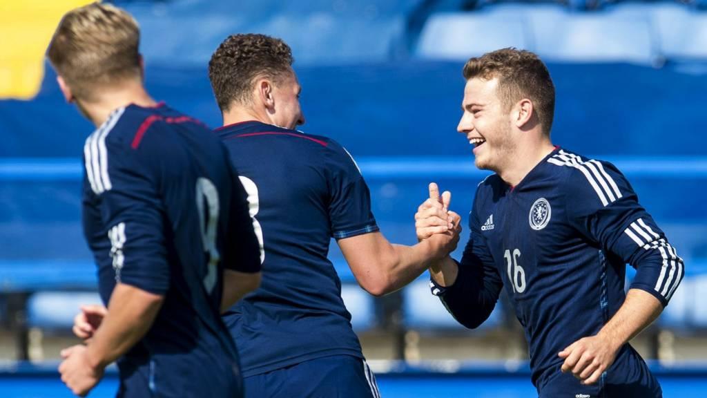 Scotland Under-21 players
