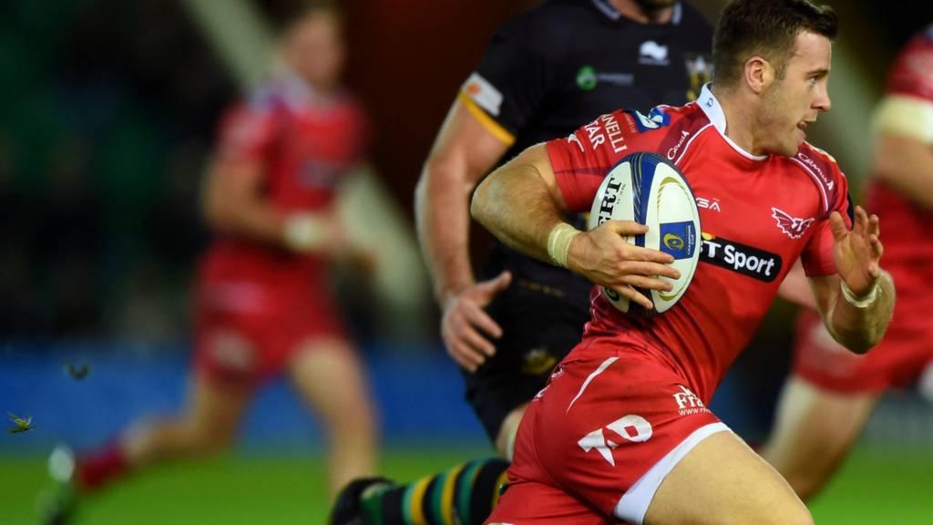 Scarlets' Gareth Davies