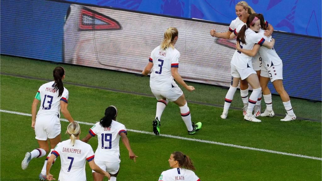 Lindsey Horan of USA