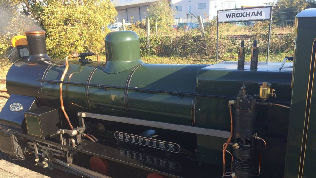 Engine at Wroxham