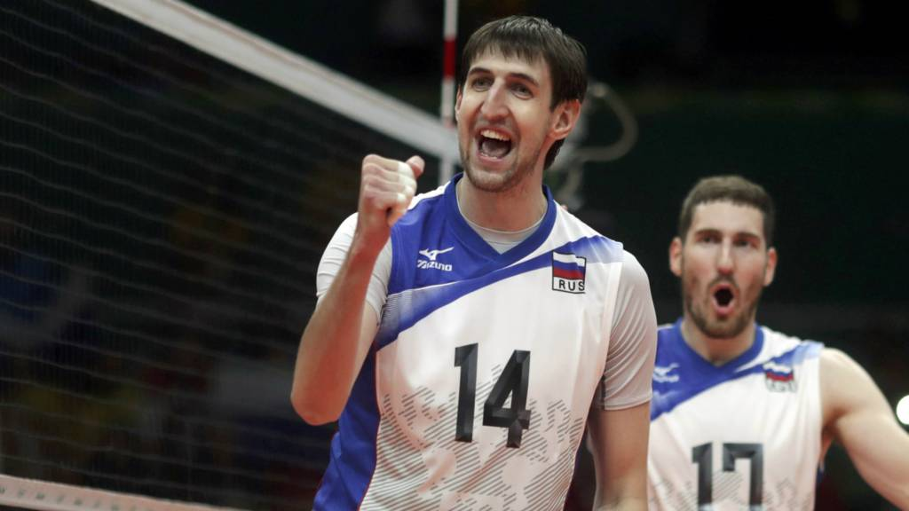 rtem Volvich of Russia and Maksim Mikhaylov of Russia