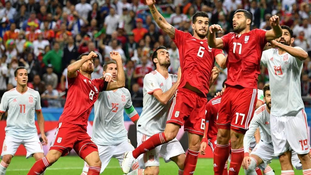Iran Vs Spanien