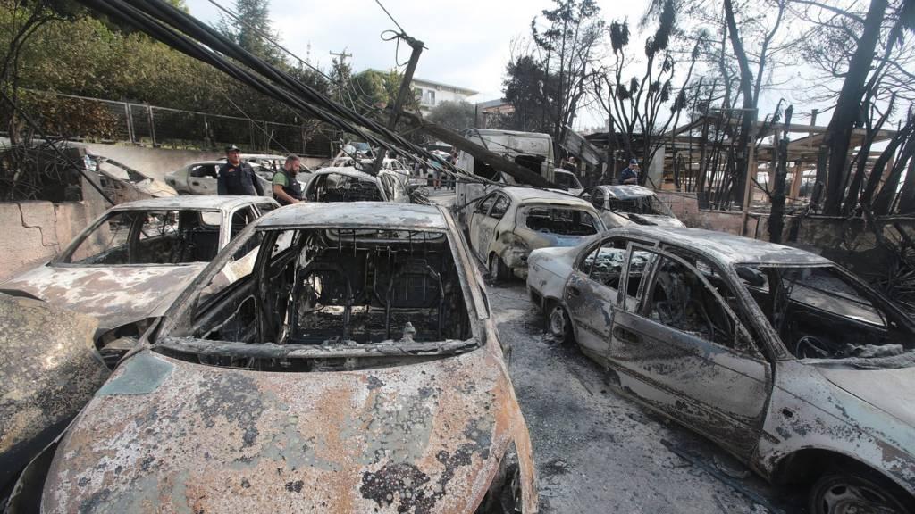 ماشینهای سوخته