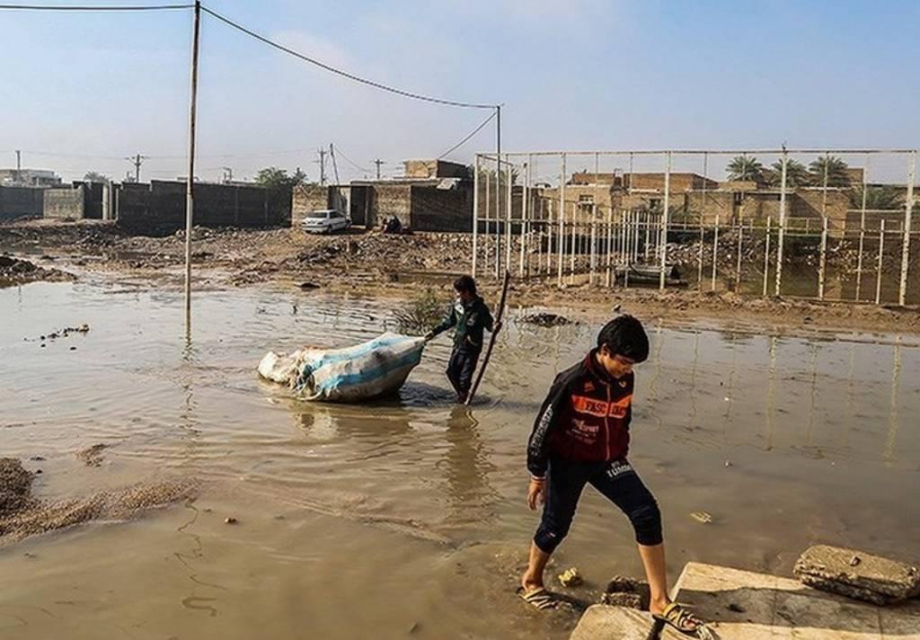 آب گرفتگی خوزستان
