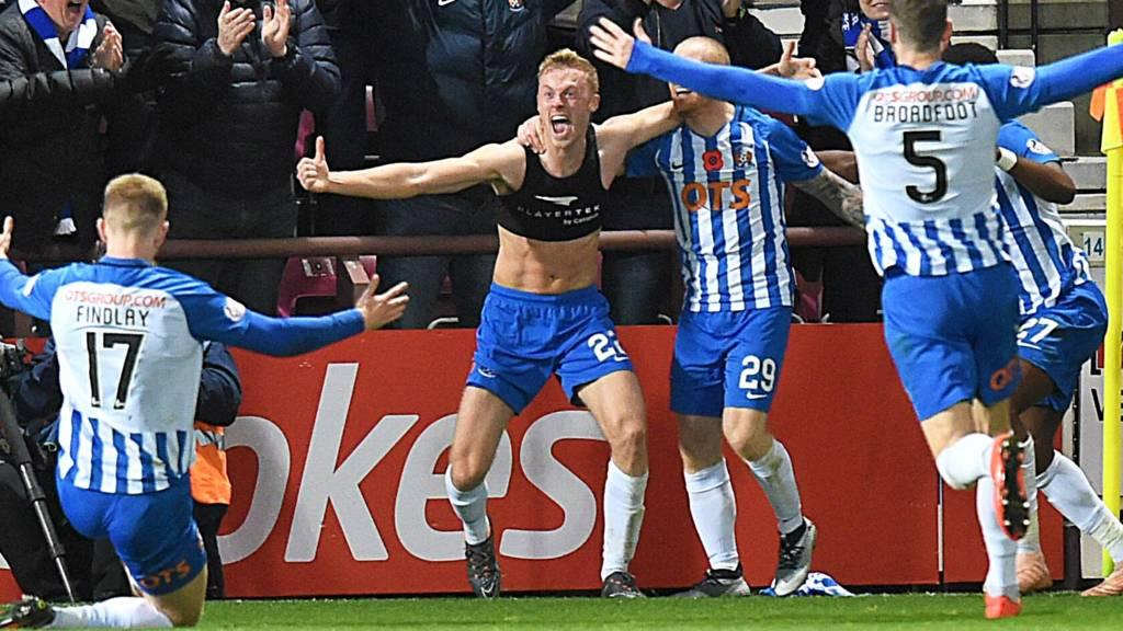 Kilmarnock celebrate