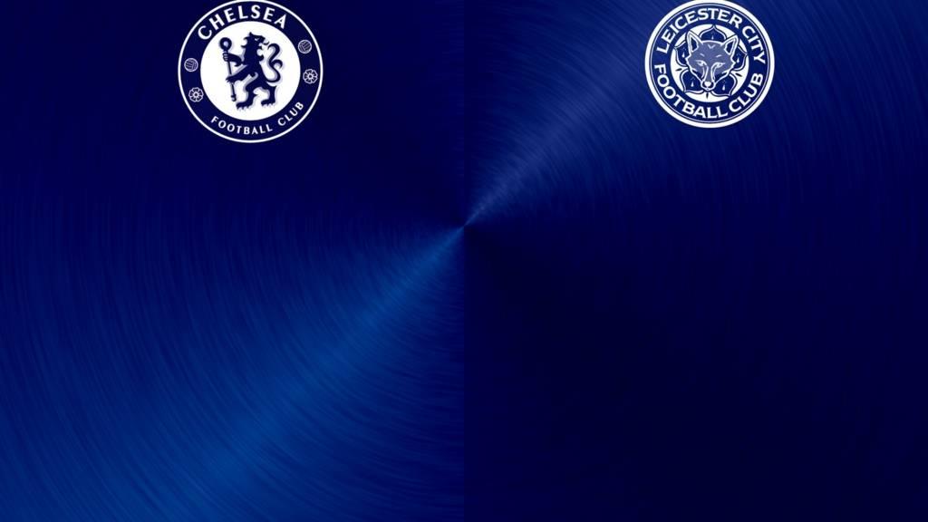 Chelsea v Leicester badges