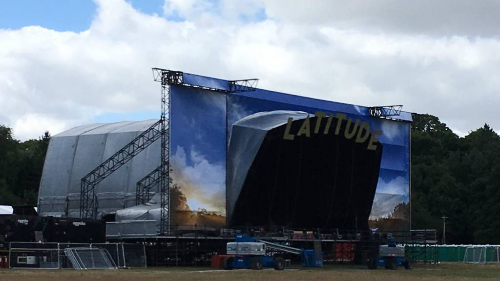 Stage at Latitude