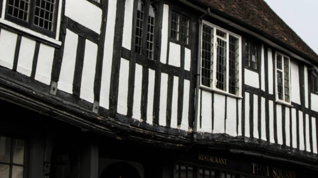 Tudor house in St Albans