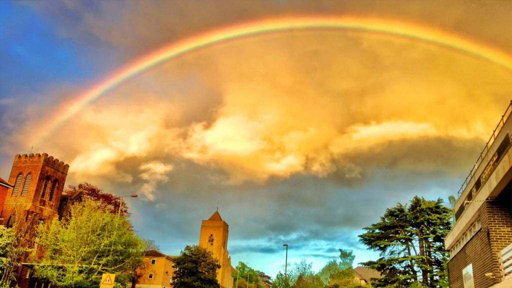 Rainbow over Oxford