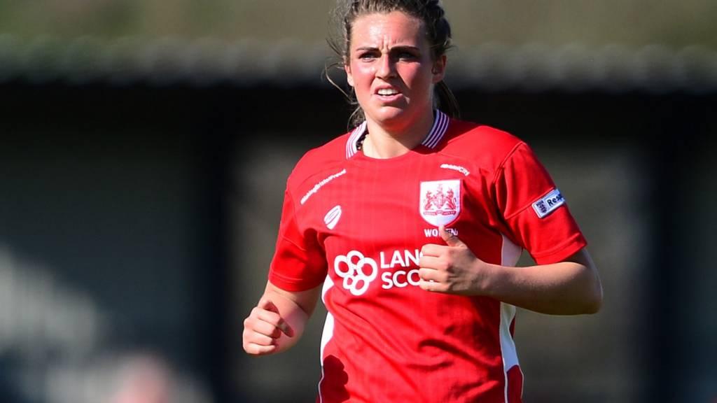 Jodie Brett of Bristol City Women