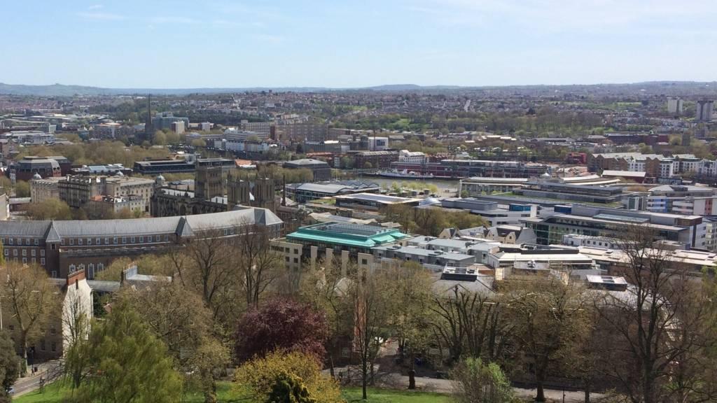 View over Bristol
