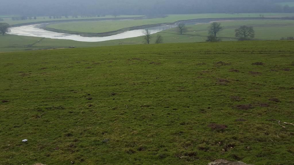River at Leighton
