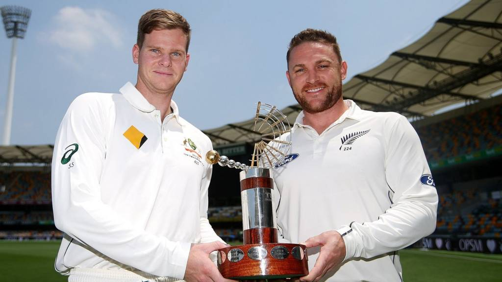 Australia captain Steve Smith and New Zealand skipper Brendon McCullum