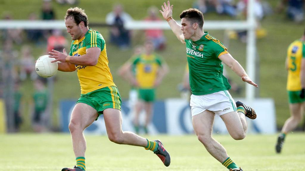 Michael Murphy will be in action for Donegal against Meath in the Division Two Final which starts at 17:00 GMT
