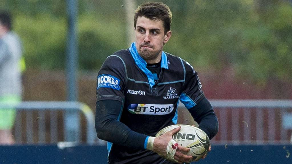 Glasgow Warriors back Peter Murchie