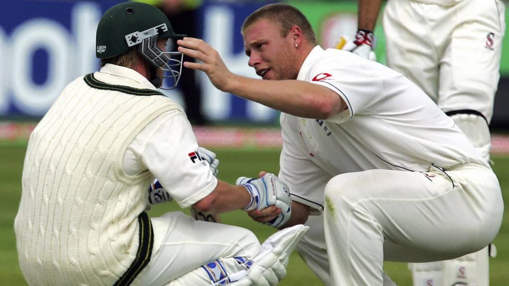 Ashes England V Australia 2005 Edgbaston Test Day Four Live Bbc Sport