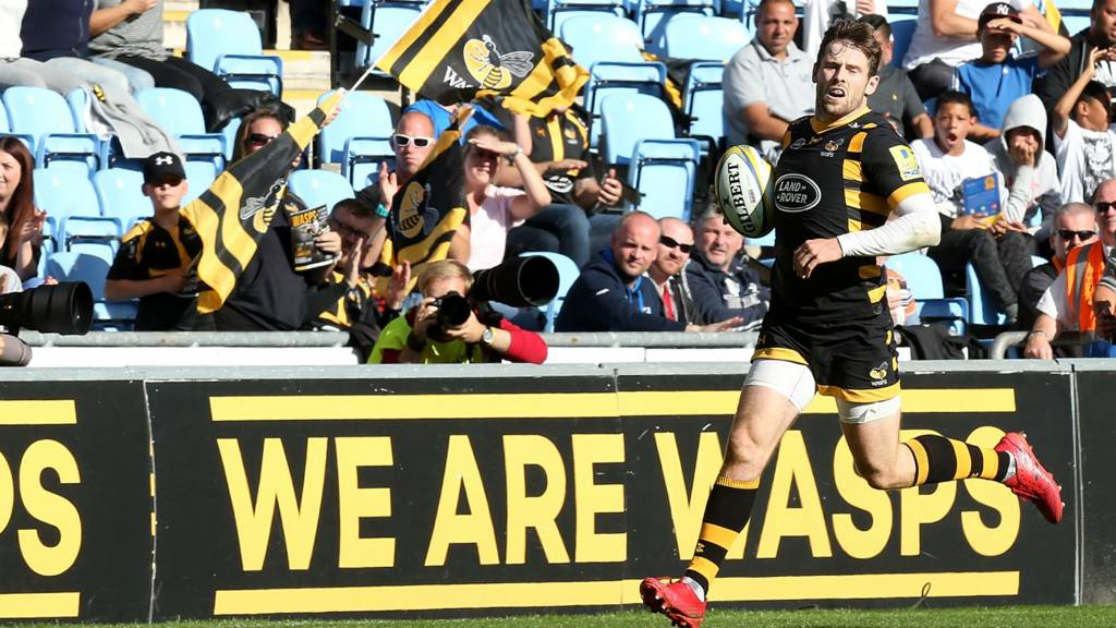 Wasps' Elliot Daly