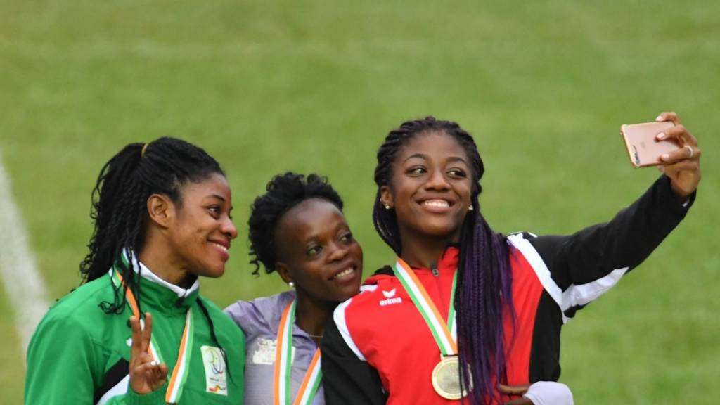 Athletes at the Jeux de la Francophonie in Ivory Coast