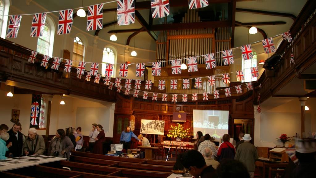 Inside High Town Church, Luton