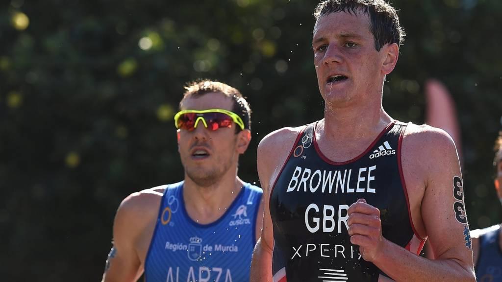 Alistair Brownlee of Great Britain