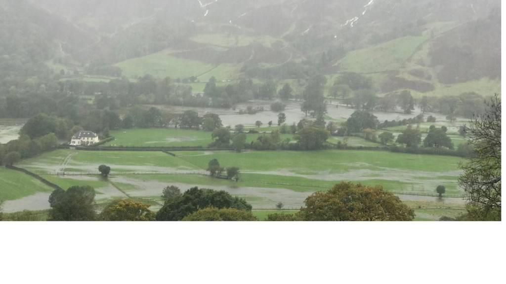Borrowdale flooding
