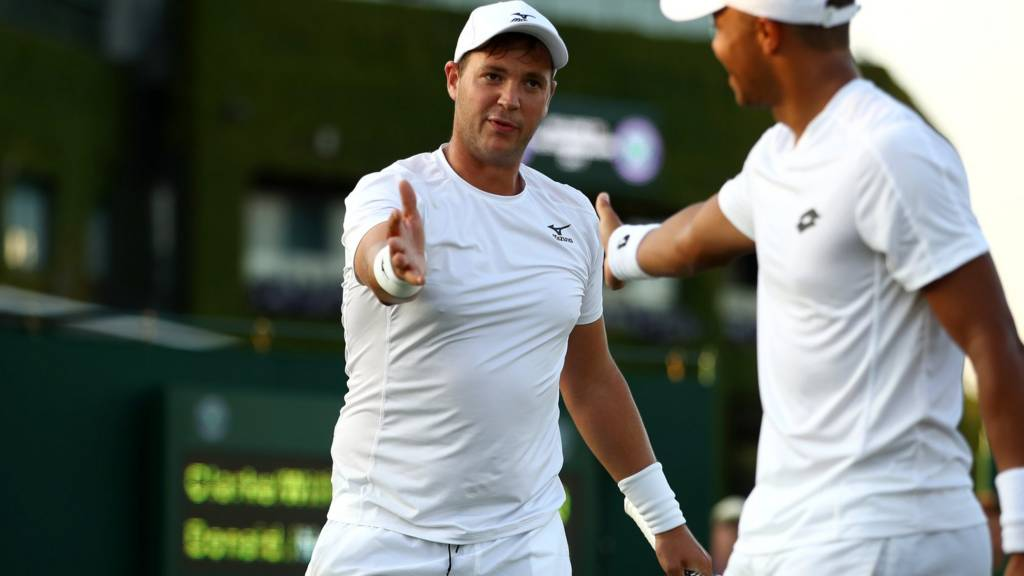 Jay Clarke and Marcus Willis